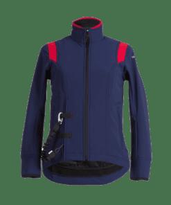 Helite Airshell-Jacke blau-rot