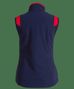 airshell-reiterweste blau-rot 2