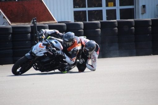Doppel Elbow-Down auf Wingbike