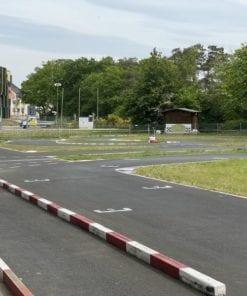 Streckenlayout Pitbike Training MSC Löwenring Braunschweig Flughafen